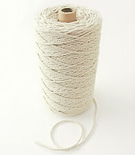 330m Natural Cotton Rope, Ø 2,5mm, For Craft Projects Cord Gift Wrap Packaging
