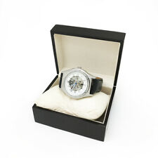 MEN TECHNO ICE 14 of 0.15CT DIAMOND ON BEZEL Mechanical Automatic Skeleton Watch
