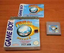 jeu Nintendo Game Boy  pinball deluxe