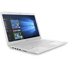"HP Stream 14-ax027cl 14"" Laptop Intel Celeron N3060 1.6GHz 4GB 32GB Win10 -White"