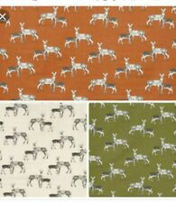 BLACKOUT LINED ROMAN BLIND M2M STAG BAMBI DEERS IN 3 COLOURS NATURE COLLECTION