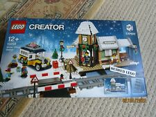 LEGO CREATOR - 10259 - WINTER VILLAGE STATION - BRAND NEW & FACTORY SEALED