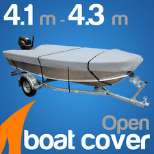 4.1m - 4.3m Trailerable Open Boat Cover Tinnie heavy duty Tinny