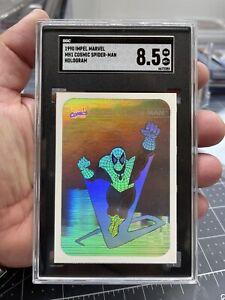 1990 Impel Marvel Universe Series 1 Cosmic Spider Man Hologram MH1 SGC 8.5 NM-MT