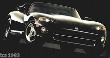 1994 Dodge SPIRIT/SHADOW/RAM/VIPER/INTREPID/CARAVAN/DAKOTA Brochure;PickUp Truck