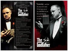 The Godfather Don Vito 2 individual posters! Everything I know Someday Quotes
