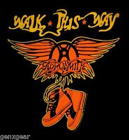 AEROSMITH cd lgo Toys WALK THIS WAY Official Baby ONE PIECE Shirt 12 Months New