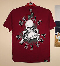 Metal Mulisha GRASP T-Shirt Cross NEU Honda Skull Freestyle MTB CR-F Quad M Rot