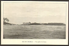 GUYANE ILE DU DIABLE BAGNE PENITENTIER IMAGE 1906