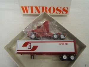 Winross Crete Carrier Corp CCC Tractor Trailer 1/64 Diecast 1994 MIB