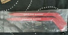 VINTAGE 1976 NHL CLEVELAND BARONS HOCKEY STICK PEN , NEW OLD STOCK