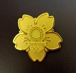 Tokyo 2020 olympic cutout gold pins