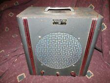 1950's Radio D&R RDR (2)6L6 Amplifier CIA-made guitar convert Celestion G10S