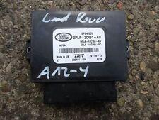 Land Rover Range Rover IV 4 Steuergerät Elektrische Handbremse DPLA 2C491 AD