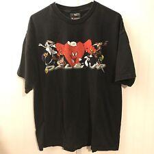 Vintage Dale Earnhardt Jr Looney Tunes T Shirt Size Large 90s RARE