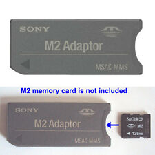 Genuine M2 Micro Memory Stick to MS PRO Adapter DUO Converter For Sony SanDisk