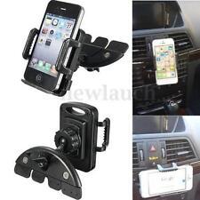 Support de voiture de GPS noirs iPhone 4 pour téléphone mobile et PDA