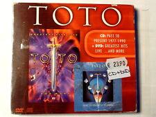 TOTO - PAST TO PRESENT 1977.1990 - GREATEST HITS LIVE - CD+ DVD NUOVO  SIGILLATO