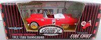 1956 FORD THUNDERBIRD fire chief TEXACO - GEARBOX chain driven pedal car 1:43