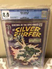 Silver Surfer 2 CGC 8.0