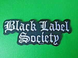 Black Label Society Patch Punk Rock Heavy Metal Pop Music Sew/Iron On Badge
