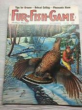Fur - Fish - Game Magazine  November 1974