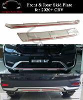Front Rear Skid Plate Bumper Board Cover Guard Fits for Honda CRV CR-V 2020 2021