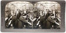 Keystone Stereoview Silk Weaving Factory, Kiryu, JAPAN from 1910's Education Set
