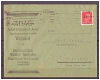 Deutsches Reich, MiNr. 391 EF Leipzig - Messestadt 03.09.1928