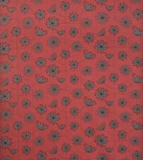 EM-CoralReefCot-Blue-M Coral Reef Stripe Print Cotton Dress Fabric