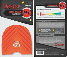Dexter Bowling Shoes Replacement Heel H1 Orange Ultra Brakz Large