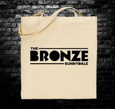 Buffy the Vampire Slayer The Bronze Sunnydale inspired tote bag long handles