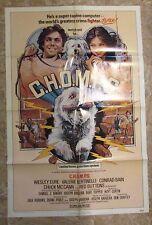 1979 C.H.O.M.P.S. Original 1-SH Movie Poster FVF 7.0 Valerie Bertinelli