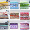 7pcs 25*25cm Assorted Pattern Floral Cotton Fabric Cloth DIY Crafts Sewing SET