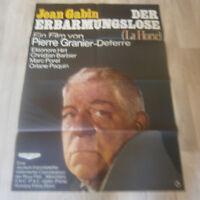 A1 Filmplakat - DER ERBARMUNGSLOSE  La Hourse - JEAN GABIN