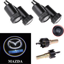 4X LED Car Door Courtesy Ghost Shadow Laser Projector Step Logo Light for Mazda