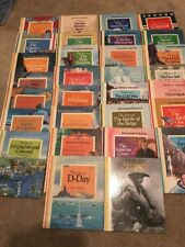 30 Cornerstones of Freedom Children's Press Books Lot History HC