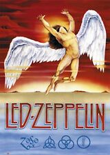 Led Zeppelin Swan Song logo Poster 24 x 36 Free Us Shipping