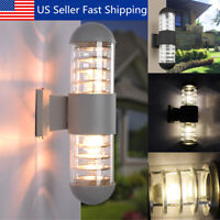 Modern LED Wall Light Up Down Indoor Outdoor Sconce Lighting Lamp Home Fixture
