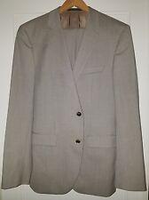 Hugo Boss suit 40L light brown wool