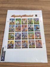 2000 Legends of Baseball 33 cent MNH Sheet Scott 3408
