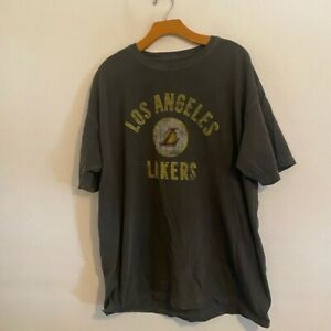 FANATICS NBA LOS ANGELES LAKERS GREY SHIRT XL