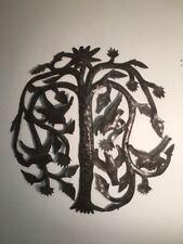 Joel Balan Metal Tree Of Life Haitian Oil Drum Art