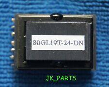 Inverter Transformer 80GL19T-24-DN for LCD Monitor, Brand New!