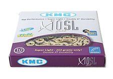 KMC X10-SL gold 10-fach Kette für Campagnolo, Shimano, Sram.