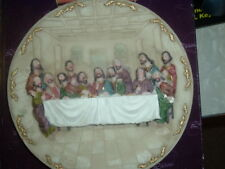 LAST SUPPER 3D PLATE WITH STAND LUCIANA COLLECTION ITALIAN-DESIGNS LUCIANA LS12