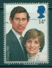 [JSC] 1981 ROYAL WEDDING PRINCE CHARLES & PRINCESS DIANA UK STAMP