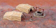 Italeri 6148. Maqueta de tiendas de campaña en el desierto. Escala 1/72