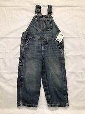 Oshkosh B'gosh Denim Overalls Boys Size 24M Carpenter Bib...