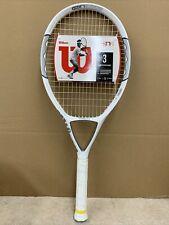 "Tennis Wilson ncode n1 Oversize 115"" Tennis Racquet NEW.  Grip Size 4 3/8"